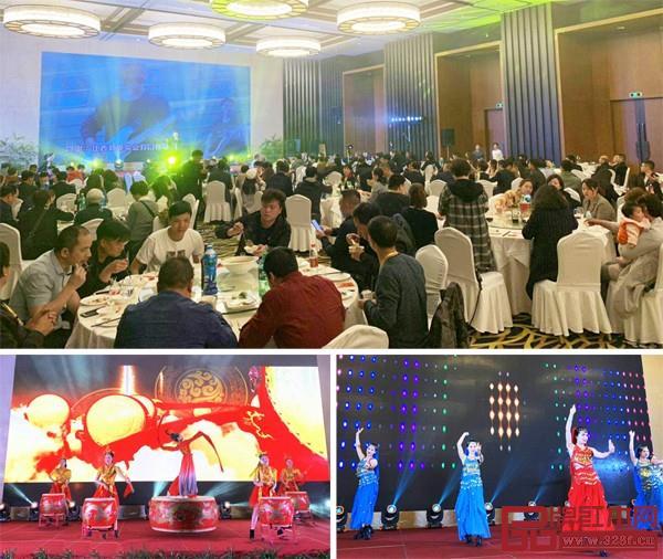 答谢晚宴上,明清居为经销商家人们准备了美酒佳肴和丰富精彩的节目,现场欢声笑语、其乐融融