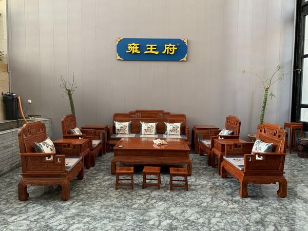 雍王府家居艺术馆家具陈设
