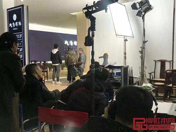 电影《匠心》在大清翰林拍摄