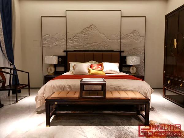 雅晟红木·檀一打造舒适温暖的新中式家居空间