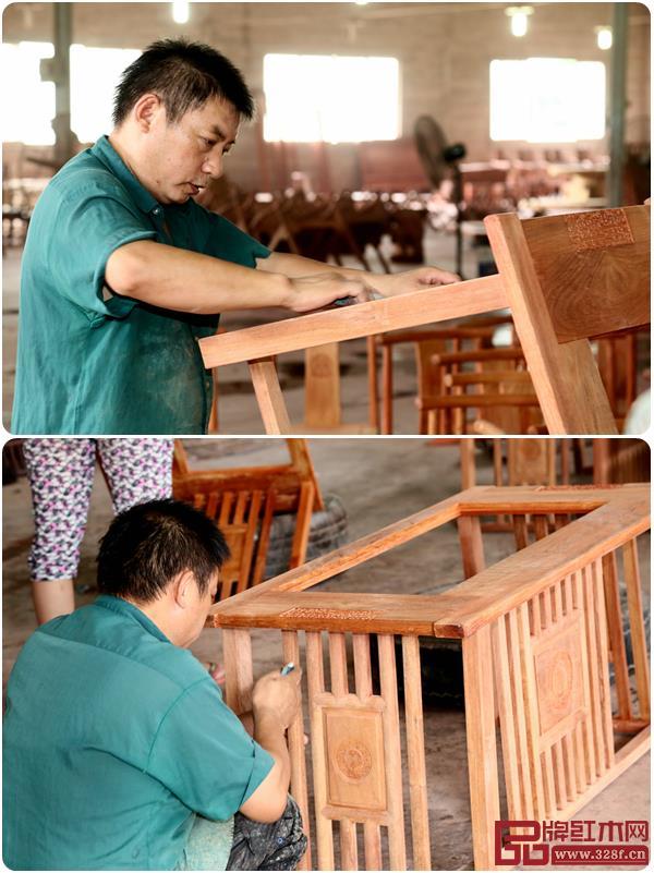 名爵彩官方助手功夫茶台初具形态刮磨中