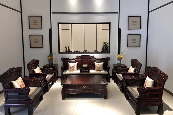 沁园居爆款推荐:印尼黑酸枝盛世沙发