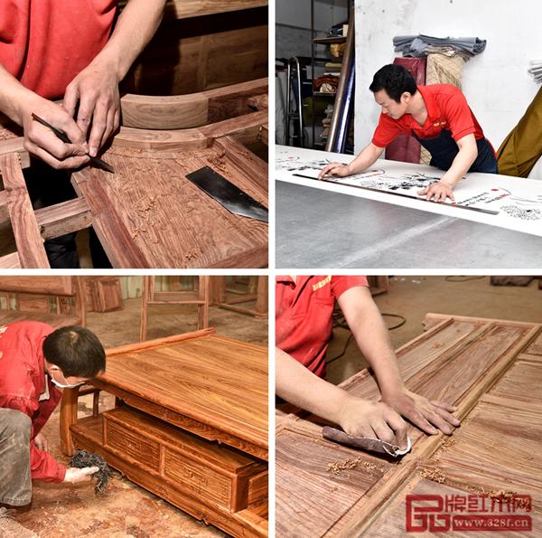 盛世周木匠以执着的工艺实现极致的品质