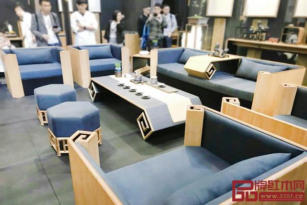2019年深圳家具展的广州美术学院教师设计作品