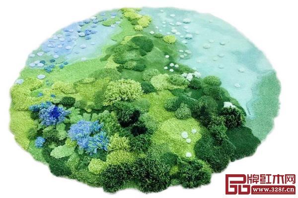 毯言织造的童话花园