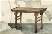 画笔下亚博体育下载苹果家具的素雅之美