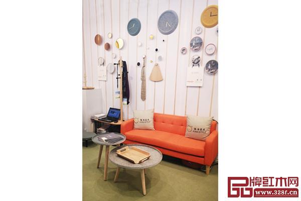 勤尚善坊在香港国际家庭用品展的展位