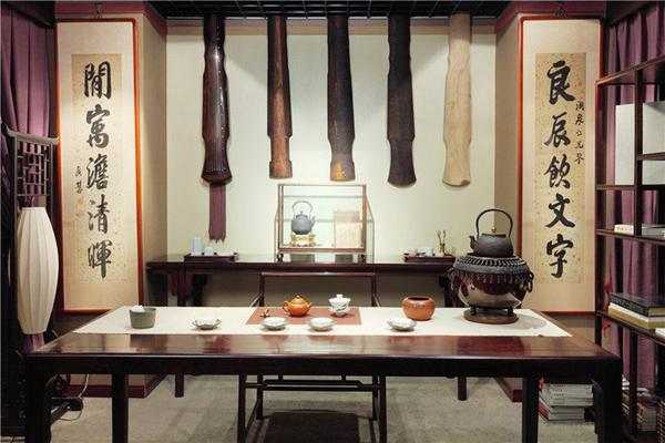 中式古韵小户型书房装修效果图