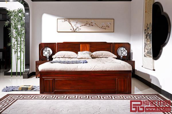 雅典红木·印象东方——唐艺系列大床