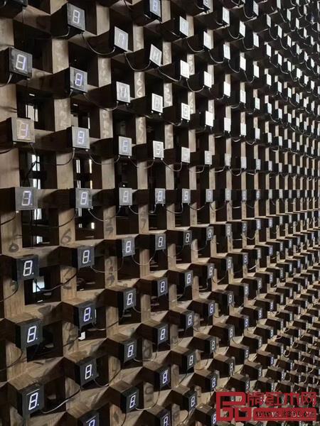 《修墙——客观世界2019》装置局部