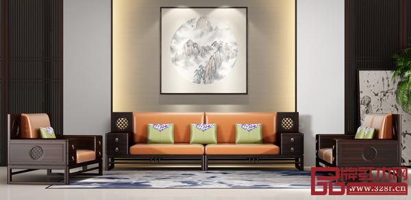 中山市雍博堂千赢国际入口家具有限公司 名称:《和润沙发》