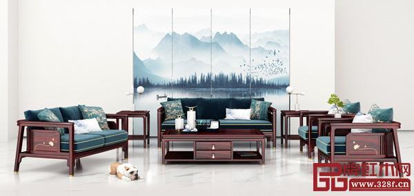 中山市顺泰轩家具制造有限公司 名称:《书香门第·书品沙发》