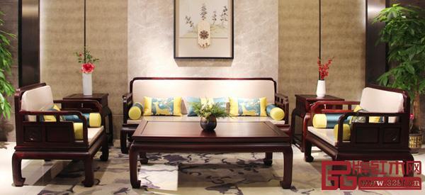 中山市博大家具有限公司 名称:《长征1号沙发》