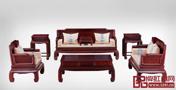 中山市古木印象千赢国际入口家具有限公司 名称:《新明式沙发》