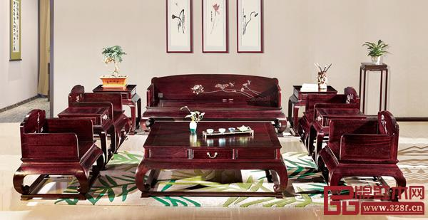 中山市荣燊堂千赢国际入口家具有限公司 名称:《和谐沙发》