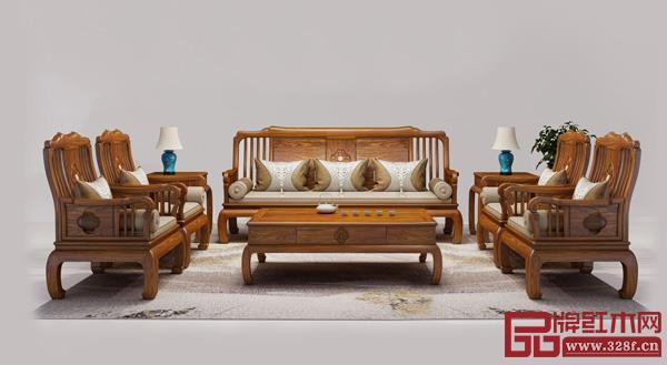 中山市榫卯大师家具有限公司 名称:《福运沙发》