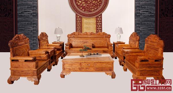 中山市艺匠轩家具有限公司 名称:《盛世年华沙发》