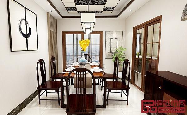 东成文宋系列餐厅空间,使就餐成为一种仪式感