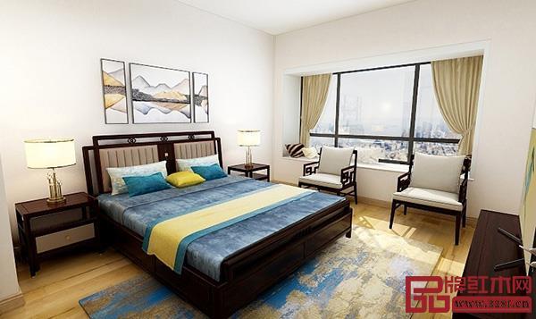 东成文宋系列卧室空间,醉美那抹马卡龙色