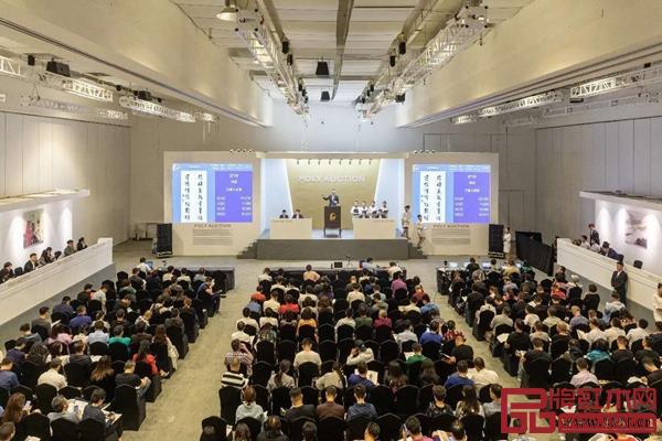 北京保利2019年春季拍卖会现场