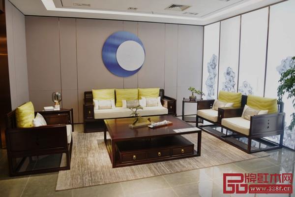 雍博堂红木旗下黑酸枝新中式品牌——春风的产品