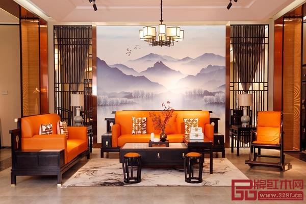 雅晟红木·檀一简奢新中式家具,以苏作传统文化为灵感,与时尚接轨,演绎经典的魅力