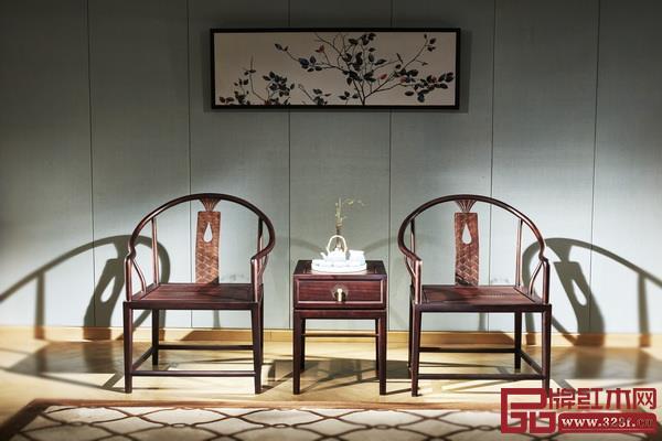 忆古轩《西厢房·新东方系列-浅漾休闲椅》
