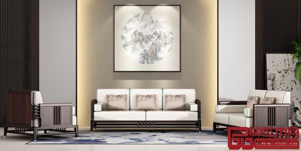 雍博堂红木·春风新中式系列产品均选为名贵的国标红木印尼黑酸枝匠心打造