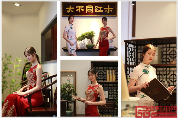 国方家居高颜值亮相第三届新中式红木展,备受瞩目
