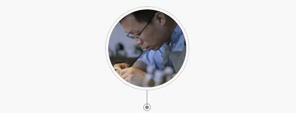 邓彬,江南大学设计学院教师,金缮修复研究者