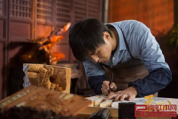 剧中以吴腾飞大师创作的人物角色吴文时