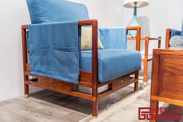 强大的收纳功能是觉朴家具的一大特色