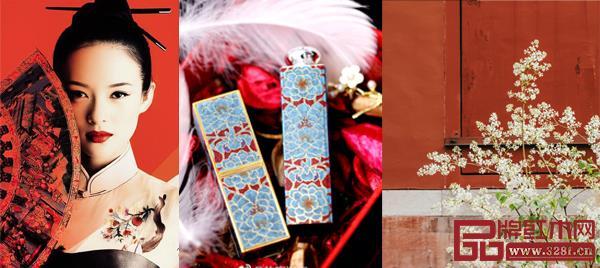 """""""红人"""",""""红颜"""",宫墙红……这些都是红色在中国文化里的印记"""
