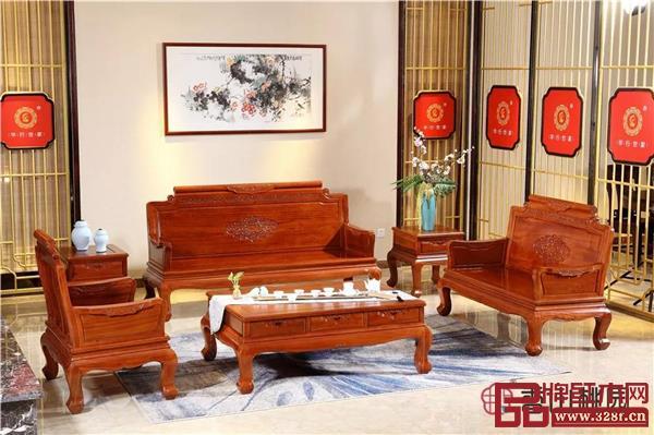 香山桃园——巴花《祥云沙发》