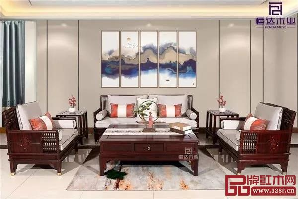 恒达木业:简韵系列沙发