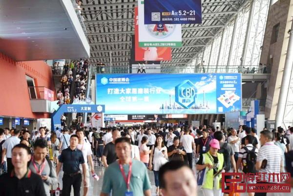 第21届中国建博会(广州)开幕首日现场人气