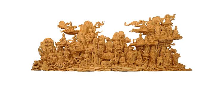 中国工艺美术大师林庆财木雕作品赏析(下)