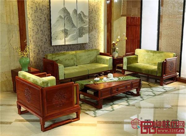 香山桃园·巴花《怡山乐水沙发》