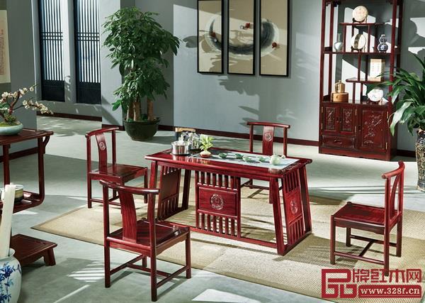 红木精品茶台