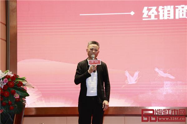 来自江西上饶的经销商刘久琴分享自己的经营心得