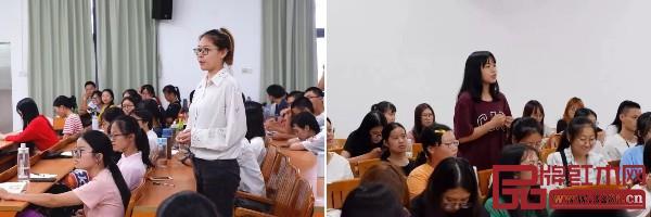 在讲座中,同学们争先抓住机会向周京南老师交流,并提出自己的困惑