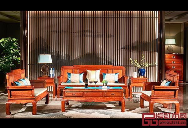 雅宋红木《明式沙发》