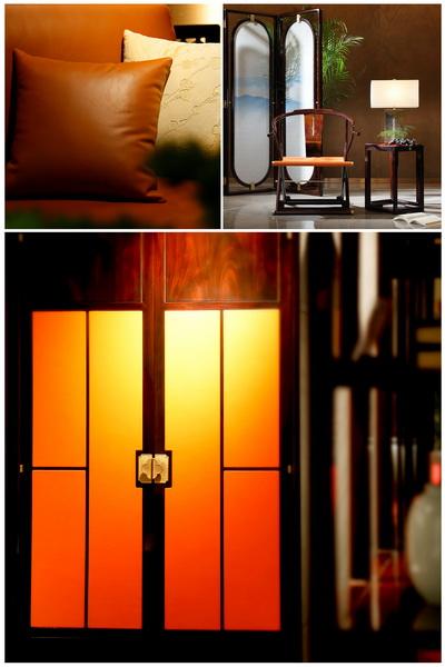 當代中式+橙色,時尚而亮眼(東成文宋)
