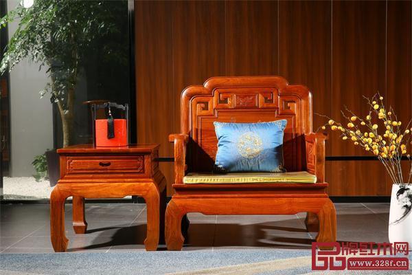 显木工坊单人位沙发
