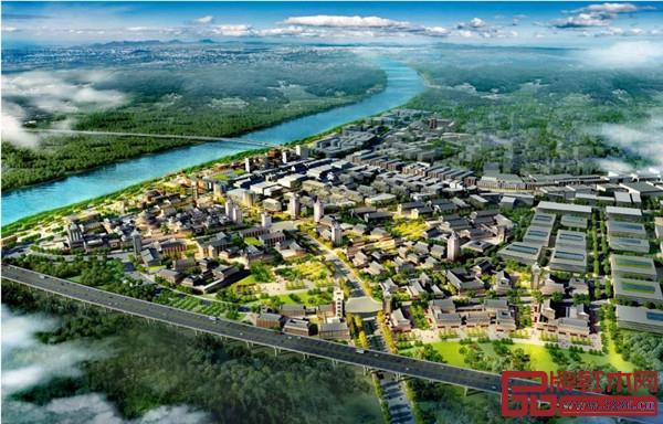 中国千赢国际入口特色小镇规划效果图