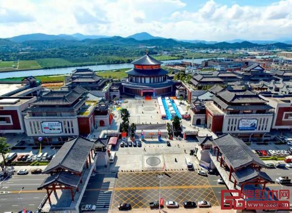 大涌红博城外景图