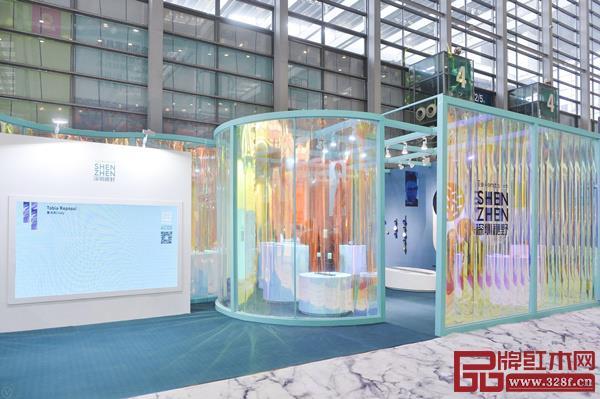 """""""深圳视野"""" 创新实验展览整体视觉空间让人眼前一亮"""