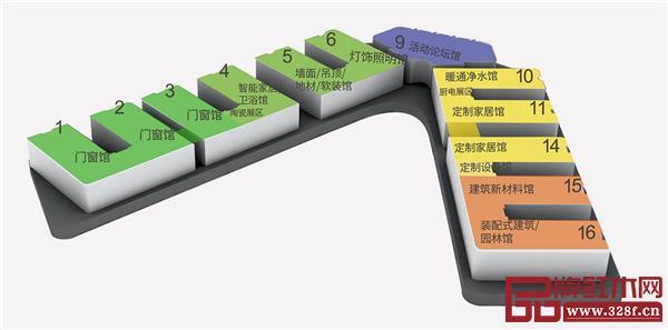 2020年展馆规划图