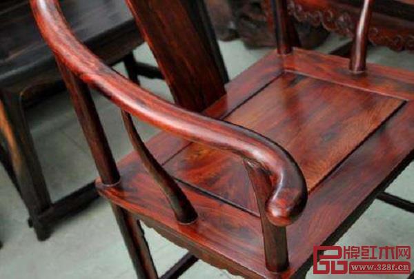 交趾黄檀圈椅