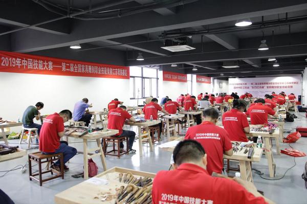 第二届全国家具雕刻职业技能竞赛常熟赛区开赛